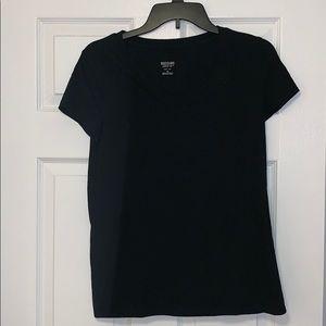 Black V-Neck T-Shirt